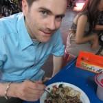 Essen aus der Garküche, direkt beim Lebua Tower
