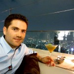 Tobi mit Hangovertini @ Lebua State Tower Skybar