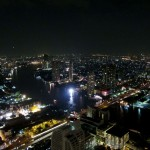 Blick auf den Chao Praya vom Lebua State Tower