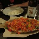Fresh Fish Thai Style