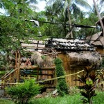 Abgebrannter Bungalow im Magic Garden Resort / Koh Chang