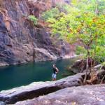 Klong Plu Wasserfall an der Westküste auf Koh Chang in Thailand