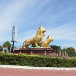 Golden Lion Monument, Sihanoukville