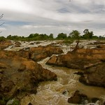 "Laotische Niagarafälle ""Li Phi Falls"" @ Don Khon"