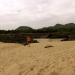 "Strand bei den ""Li Phi Falls"" @ Don Khon"