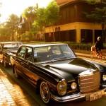 Mercedes in Luang Prabang