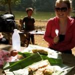 Lunch beim Trekking