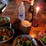 Unser fertiges Abendessen im Khmu Village