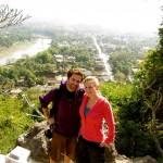 Am Gipfel vom Mount Phousi