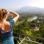 Ulli am Mount Phousi Luang Prabang