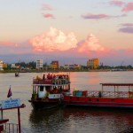 Phnom Penh Riverside Sunset