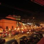 Blick aus dem Red Piano auf unser BBQ Restaurant