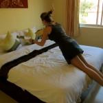 Endlich wieder ein luxuriöses Bett! MotherHome Inn!