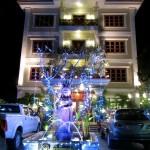 Weihnachtsstimmung in Siem Reap