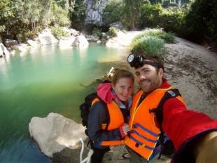 Tobi & Ulli nach der Khong Lo Cave Expedition