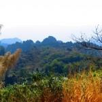 Aussichtspunkt am Weg zur Khong Lo Cave