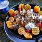 Genialer Obstsalat mit Yoghurt & Müsli im Pan's Place