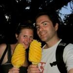 Unser Eisersatz - frische Ananas