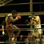 Muay Thai Kampf