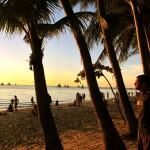 Ankunft am White Beach @ Boracay
