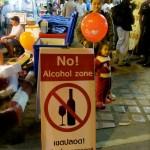 No Alcohol Zone ;)