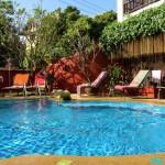 Pool @ Chiang Mai Thai House