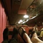 Die Busfahrt nach Bangkok