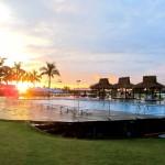 CWC Wakeboardlift bei Sonnenaufgang