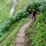 Abstieg zum Wasserfall Tappiya