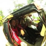Die Heimfahrt nach Banaue im Tricycle