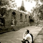 Tobi in Intramuros Manila Fort Santiago