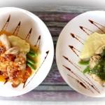 Zwei fantastische Variationen des Mahi-Mahi Fischfilets in der Warung Bule