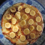 Die berühmte Bananenpancake mit frischer Marmelade im Lamancha Homestay
