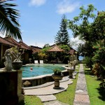 Unser schöner Pool im Padang Bai Beach Homestay