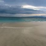 Bias Tugal Strand in Gehnähe von Padang Bai