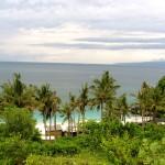 Bias Tugal Strand bei Padang Bai von Oben