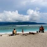 Strand bei der Surf Bar - Gili Trawangan