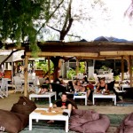 Chillen im Gili Cafe