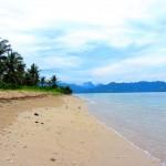 Strand auf Gili Air