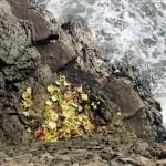 Opfergaben beim Pura Batu Bolong