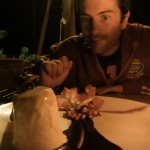 Himmlisches Almond Parfait im MadeInItaly Restaurant