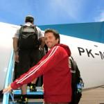 Mit Merpati Airlines von Flores nach Bali