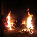 Am Schluss werden die Ogah Ogahs verbrannt!