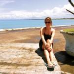 Ulli posiert auf der Promenade - die Sonne ist zurück!