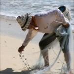 Fischer am Jimbaran Beach