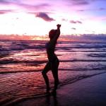 Ulli nach dem Surfen am Canggu Beach