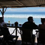 Warung mit Seaview am Balangan Beach