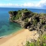 Balangan Beach von Oben